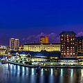 Harbor Island Nightlights by Marvin Spates