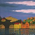 Harbor by Margaryta Yermolayeva