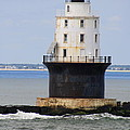 Harbor Of Refuge Light  by Christiane Schulze Art And Photography