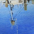 Harbor Reflections by Anna Lowther
