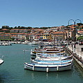 Harbor Scene Cassis  by Christiane Schulze Art And Photography