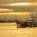 Harbor Sunrise by Calazone's Flics