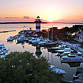 Harbor Town 4 In Hilton Head by Duane McCullough