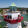 Harbor Town Lighthouse In Hilton Head by Duane McCullough
