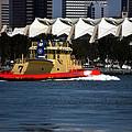Harbor Tug by See My  Photos