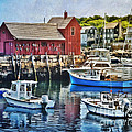 Harbor View by Claudia Kuhn