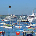 Harbour And Queen's Wharf - Falmouth by Rod Johnson