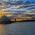 Harbour Bridge And Operahouse by Stefan Pettersson