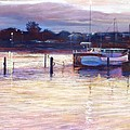 Harbour Lights - Apollo Bay by Lynda Robinson