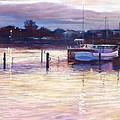 Harbour Lights - Apollo Bay by Lynda Robinson