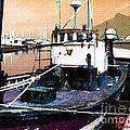 Harbour Scene by Gert J Rheeders
