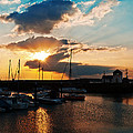 Harbour Sunset by Beverly Cash
