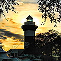 Harbour Town Lighthouse Beacon by Dale Kauzlaric