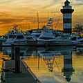 Harbour Town Reflection by Dale Kauzlaric