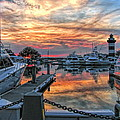 Harbour Town Yacht Basin by Dale Kauzlaric