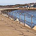 Harbour Wall Promenade by Gill Billington