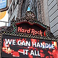 Hard Rock Cafe New York by Valentino Visentini