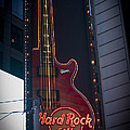 Hard Rock Guitar Nyc by Teresa Mucha