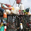 Hard Working Buoys by Barbara McDevitt