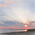 Hardings Beach by Michael DArienzo