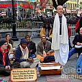 Hare Krishnas Nyc by Ed Weidman