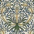 Harebell Design 1911 by William Morris