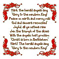 Hark The Herald Angels Sing by Rose Santuci-Sofranko