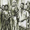 Harlem Guys - New York Art by Peter Potter