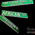 Harlem Crossroads by Ed Weidman