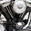 Harley Chrome And Steel by Ed Gleichman