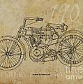 Harley Davidson 1907 by Pablo Franchi