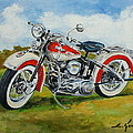 Harley Davidson 1943 by Luke Karcz