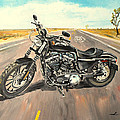 Harley Davidson 883 Sportster by Luke Karcz
