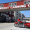 Harley Davidson At Monterey Cannery Row California 5d25024 by Wingsdomain Art and Photography