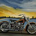 Harley Davidson Duo Glide by Paul Meijering