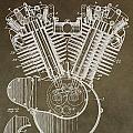 Harley Davidson Engine by Dan Sproul
