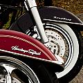 Harley Davidson Heritage Softail And Road King by Dennis Coates