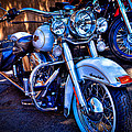 Harley Davidson - Heritage Softail by David Patterson