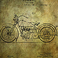 Harley Davidson Motorbike Patent  by Chris Smith