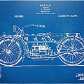 Harley-davidson Motorcycle 1919 Patent Artwork by Nikki Marie Smith