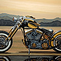 Harley Davidson by Paul Meijering