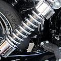Harley Engine Close-up 2 by Anita Burgermeister