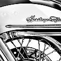Harley Heritage Softail Monochrome by Tim Gainey