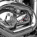 Harley Reflections by Gill Billington