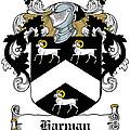 Harman Coat Of Arms Carlow Ireland by Heraldry