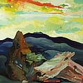 Harmonica Under Firewood by Joseph Demaree