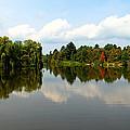 Harmony On The Boyne River by Debbie Oppermann