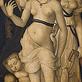 Harmony Or The Three Graces by Hans Baldung