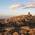 Harney Peak At Dusk by Daniel  Taylor