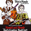Harold And Maude, L-r Bud Cort, Ruth by Everett